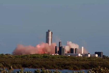SpaceX испытала лунный корабль