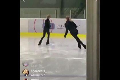 Видео тренировки Косторной в академии Плющенко вызвало споры среди фанатов