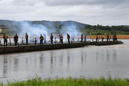 В Минобороны прокомментировали обрушение моста с военными