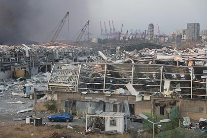После взрыва в Бейруте погибла бригада пожарных