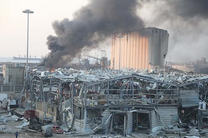 Названа возможная причина взрыва в Бейруте