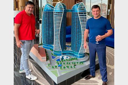 Раскрыта стоимость люксовых кед Саакашвили