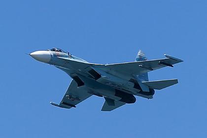 Российский Су-27 перехватил американские самолеты-разведчики над Черным морем