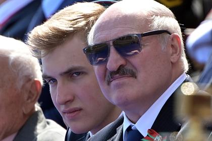 Лукашенко рассказал об оппозиционных настроениях сына
