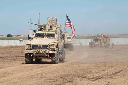 Американская военная база подверглась ракетному обстрелу в Сирии