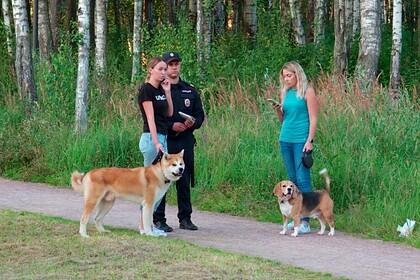 Российские чиновники проинспектировали испражнения собак