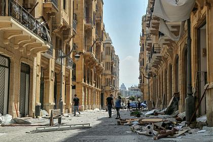 Ливан рассказал об отсутствии денег для борьбы с последствиями взрыва