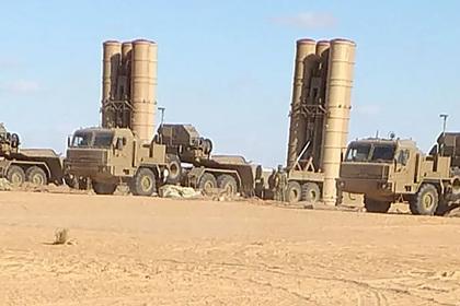 Российские С-300 впервые заметили в Ливии