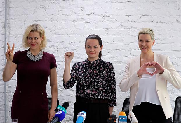 Оппозиционные кандидаты приняли решение объединить электорат ради победы Светланы Тихановской и совместно проводят предвыборные мероприятия.