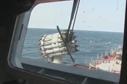Россия «обстреляла» подлодку бомбами и торпедами