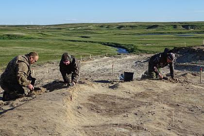 Археологи нашли в Ямальском районе древнее жилище с ценными артефактами