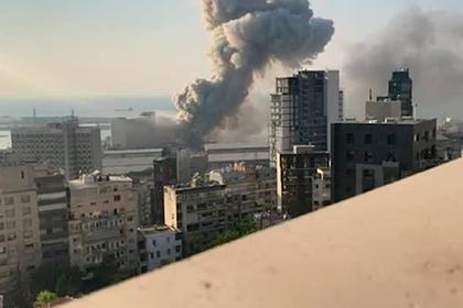 Взрыв в Бейруте показали в высоком качестве