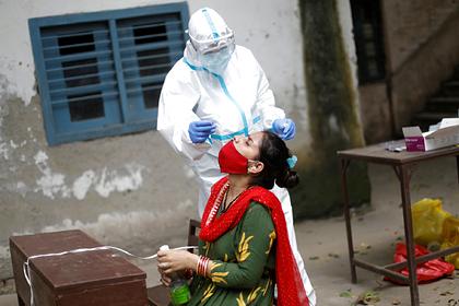 Число зараженных коронавирусом в Индии превысило два миллиона