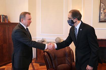 В МИД Белоруссии приняли главу посольства США