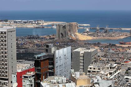 Иностранное вмешательство назвали возможной причиной взрыва в Бейруте