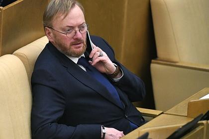 Милонов объяснил необходимость чиновников летать бизнес-классом