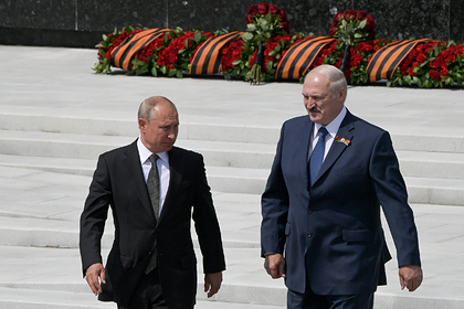 Владимир Путин и Александр Лукашенко Фото: Сергей Гунеев / РИА Новости