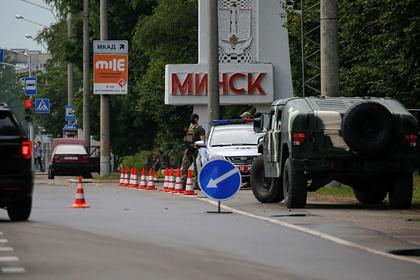 В Минске появились раненые в столкновениях с ОМОН