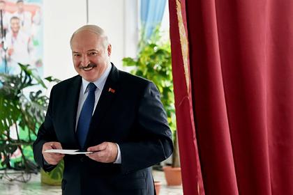 ЦИК Белоруссии объявил победителя выборов президента