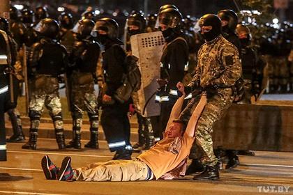 В МВД Белоруссии опровергли информацию о погибшем протестующем