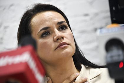 Тихановская обжалует итоги выборов президента Белоруссии