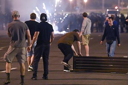 Названо число пострадавших в ходе массовых протестов в Белоруссии