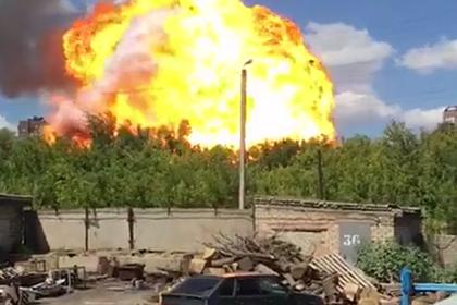 Число пострадавших при взрыве на заправке в российском городе выросло