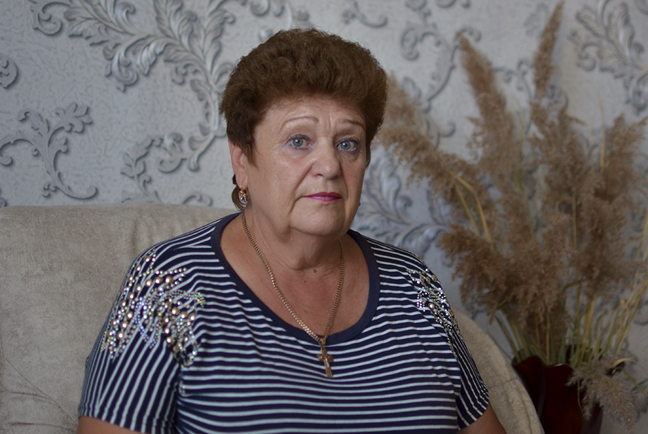 Надежда Некрасова, мать погибшего матроса Алексея Некрасова