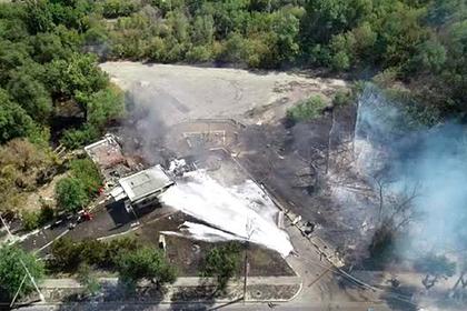 Последствия взрыва на заправке в Волгограде попали на видео