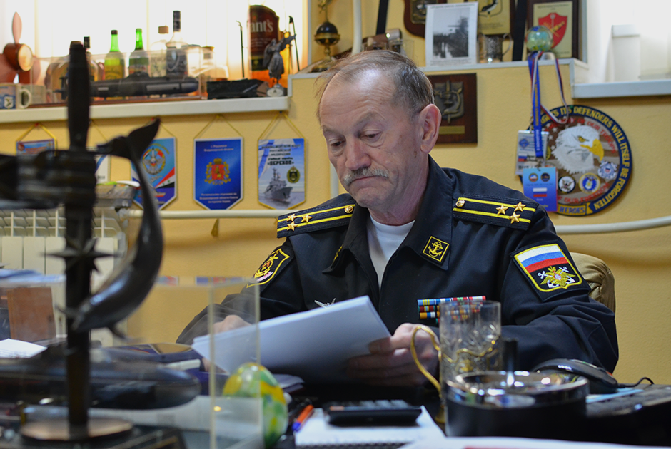 Капитан I ранга Игорь Курдин