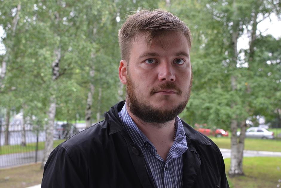 Алексей Белозоров — сын капитана III ранга Николая Белозорова