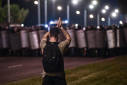 В Минске начались массовые задержания на протестах