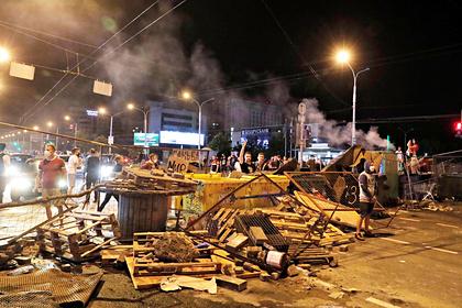 В Минске завершился второй день протестов