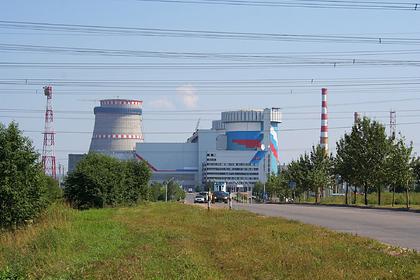 На российской АЭС произошло задымление при тестовом пуске оборудования