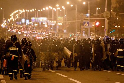 Белорусский парламент оправдал разгон протестных акций