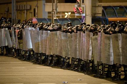 Оценены сроки окончания протестов в Белоруссии