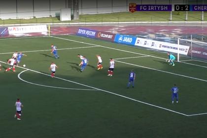 Появилось видео гола 15-летнего российского футболиста