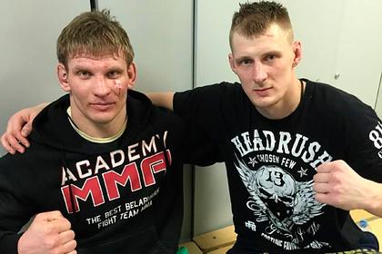 Волков обратился к властям Белоруссии после задержания бойца MMA на протестах
