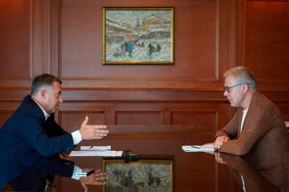 Фетисов и Кобзев обсудили совместную работу над развитием Байкальской территории