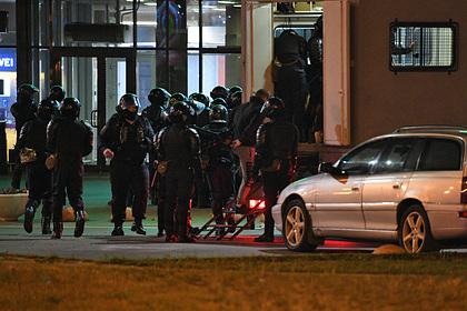 МВД Белоруссии пожаловалось на участившиеся попытки задавить милиционеров