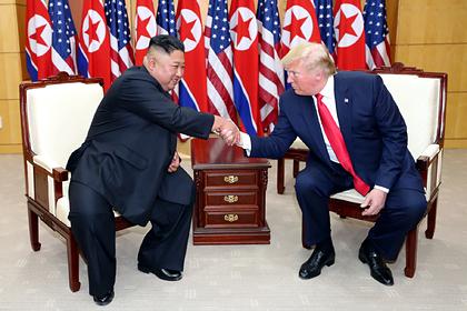 Раскрыты детали личной переписки Трампа и Ким Чен Ына