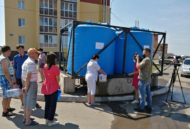 Отключение воды в ЖК «Михайловка Green Place»