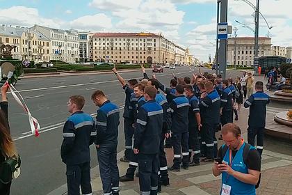 Работники минского метро присоединились к забастовке