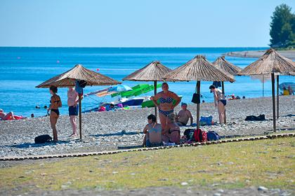 Ринувшиеся в Абхазию россияне назвали ее преимущество перед курортами России