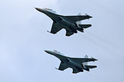 Российский истребитель вновь перехватил самолеты США над Черным морем