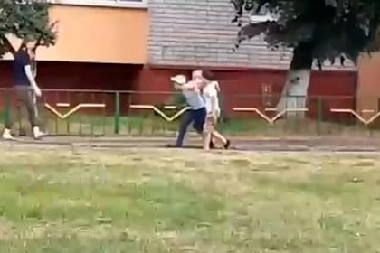 Белорусские дети начали играть в «людей и ОМОН»