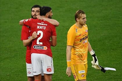 «Спартак» выиграл в первом матче после судейского скандала
