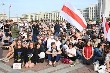 Украина отвергла причастность своих граждан к протестам в Белоруссии