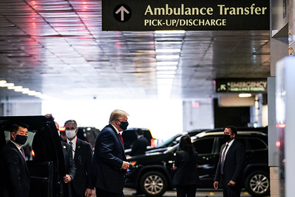 Трамп навестил младшего брата в больнице