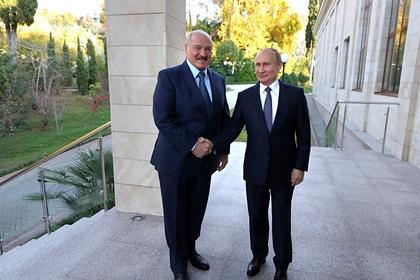 Лукашенко и Путин снова поговорили